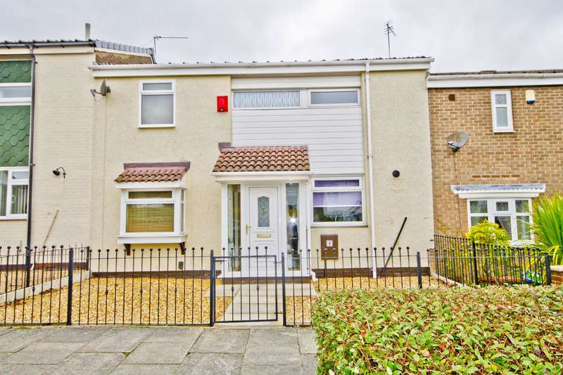 3 Bedrooms Terraced House for sale in Birchtree Close, Ormesby, Middlesbrough, TS7 9PQ