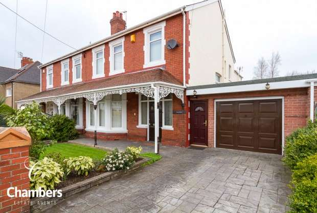 4 Bedrooms Semi Detached House for sale in Bishops Road, Whitchurch, Cardiff, CF14