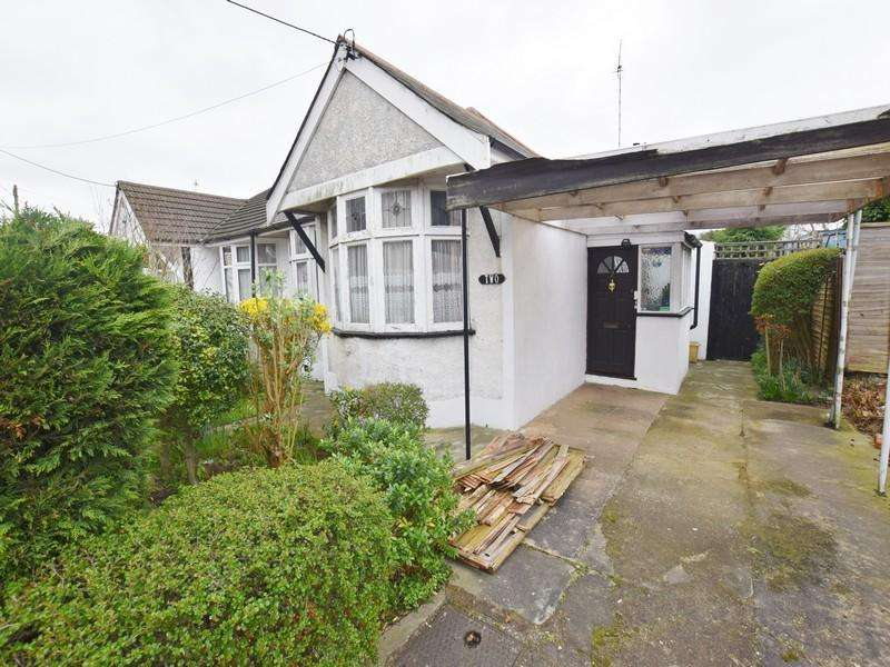 2 Bedrooms Semi Detached Bungalow for sale in Broughton Road, Hadleigh