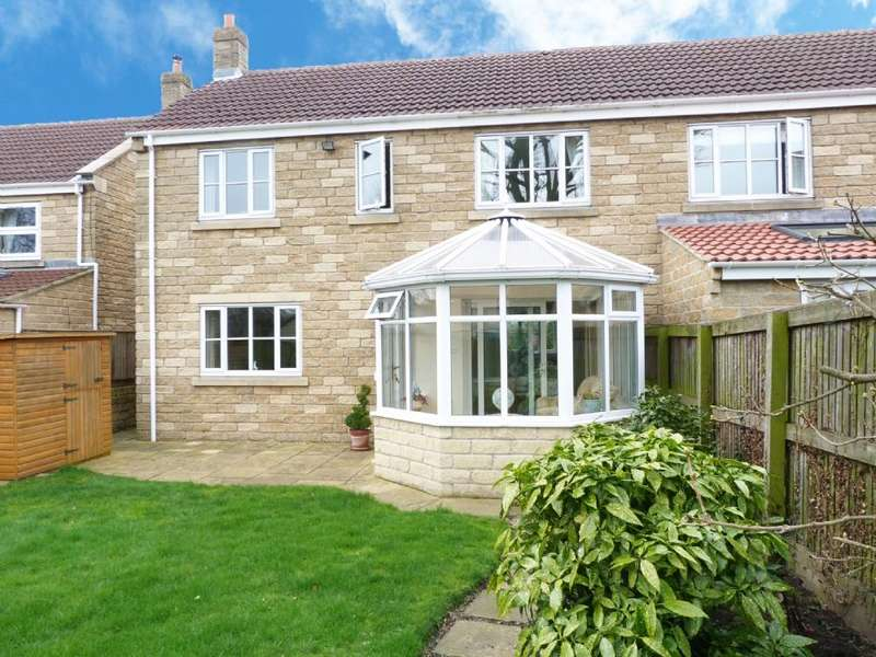 3 Bedrooms Semi Detached House for sale in 17 St Andrews Gate Kirkby Malzeard HG4 3SP