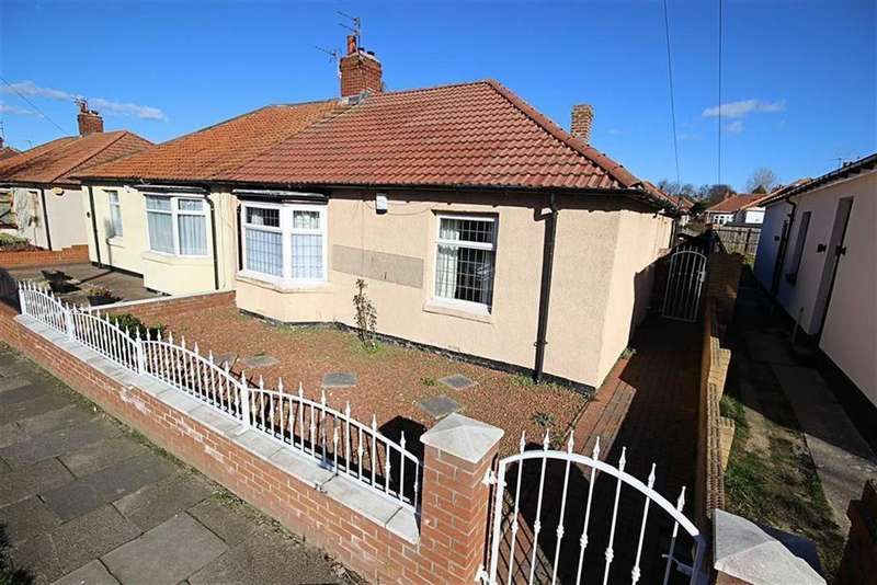 2 Bedrooms Semi Detached Bungalow for sale in West Avenue, South Shields, Tyne And Wear