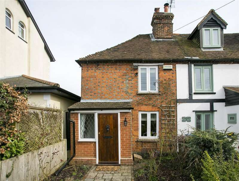 2 Bedrooms End Of Terrace House for sale in Victoria Cottage, School Lane, West Kingsdown, Sevenoaks