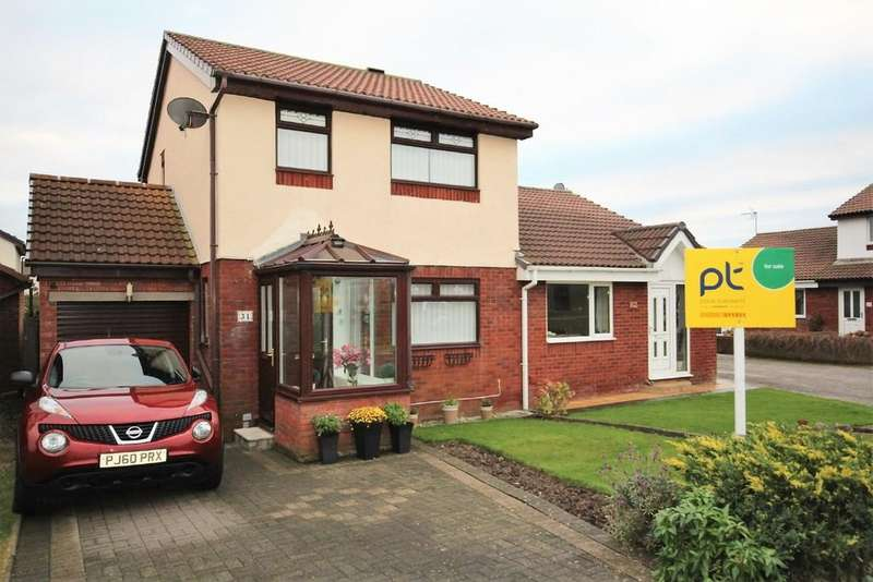 3 Bedrooms Detached House for sale in 31 Tideway Drive, Walney