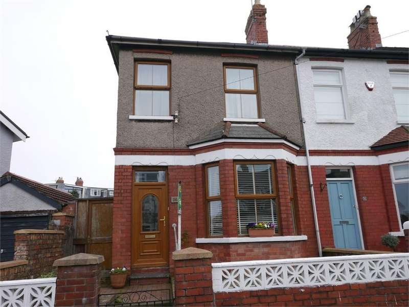 3 Bedrooms End Of Terrace House for sale in Redlands Road, Penarth