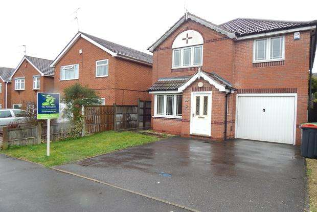 4 Bedrooms Detached House for sale in Dabek Rise, Kirkby-in-Ashfield, Nottingham, NG17