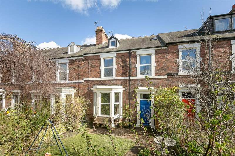4 Bedrooms Terraced House for sale in Gosforth Terrace, South Gosforth, Newcastle upon Tyne