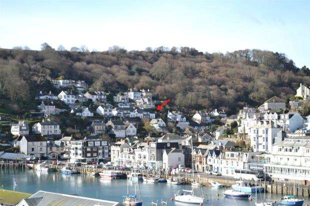 4 Bedrooms Semi Detached House for sale in Downs View, Looe, Cornwall