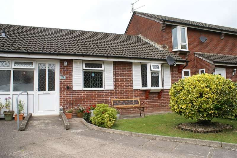 2 Bedrooms Semi Detached Bungalow for sale in Pavaland Close, St. Mellons, CARDIFF
