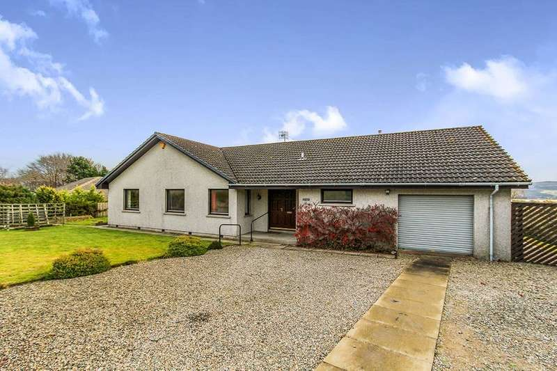 4 Bedrooms Detached Bungalow for sale in Cnoc Aluinn, Croftnacreich,North Kessock, Inverness, IV1