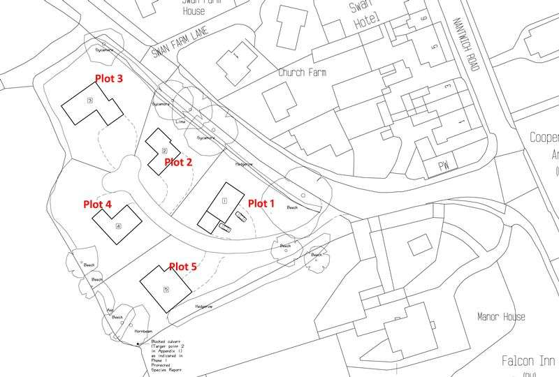 5 Bedrooms Land Commercial for sale in Plot 2, Audlem Road, Woore, Shropshire