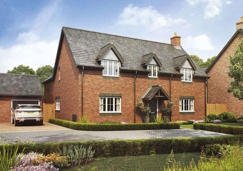 5 Bedrooms Detached House for sale in Plot 19, The Sycamore, Barley Fields, Uttoxeter