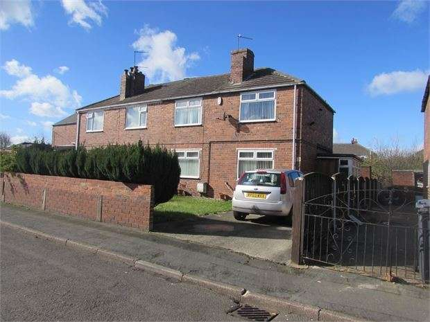 3 Bedrooms Semi Detached House for sale in Halifax Avenue, Conisbrough, Doncaster, DN12 3PP