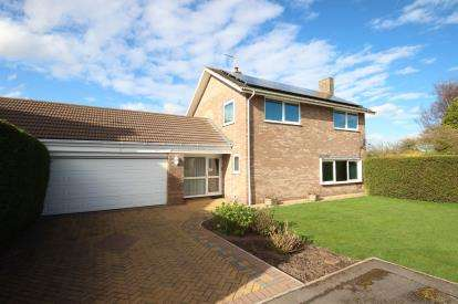 3 Bedrooms Detached House for sale in Harcourt Close, Wheldrake, York, North Yorkshire