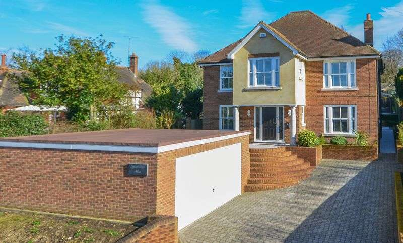 5 Bedrooms Detached House for sale in Eythorne Road, Shepherdswell