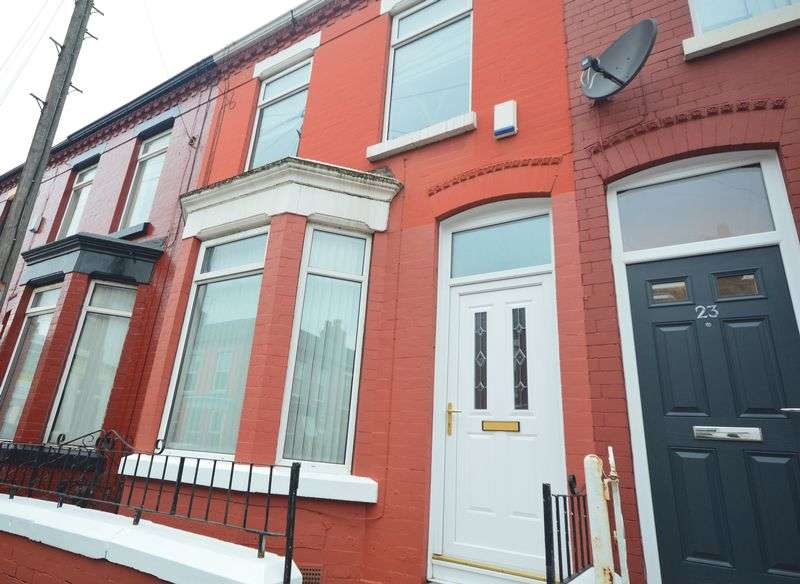 3 Bedrooms Terraced House for sale in Woodcroft Road, Wavertree