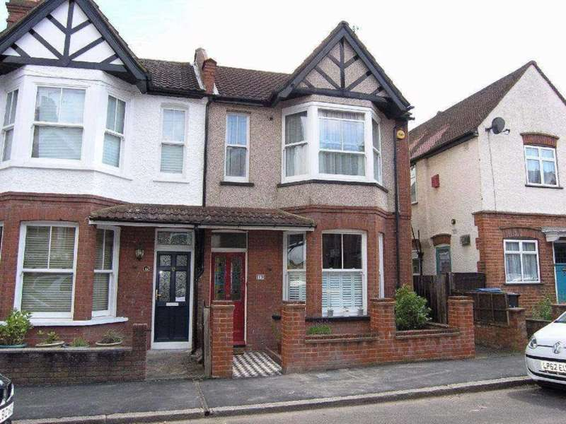 3 Bedrooms End Of Terrace House for sale in King Edward Road, Oxhey Village