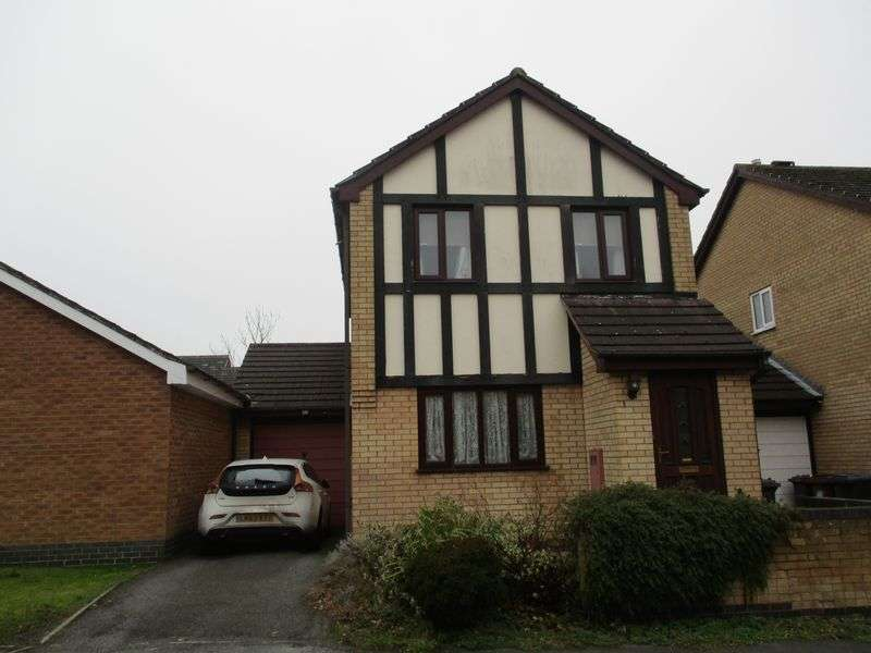 3 Bedrooms Detached House for sale in Falconers Green, Hinckley