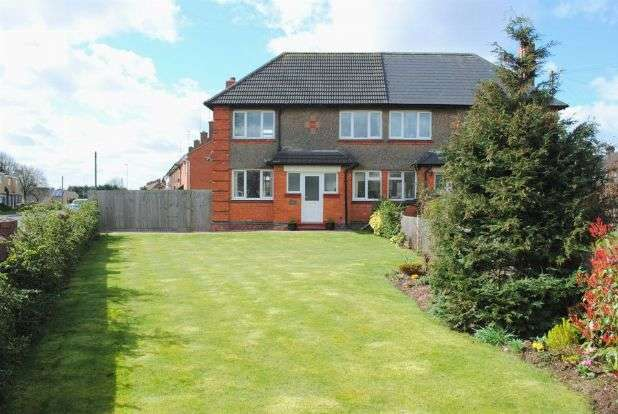 2 Bedrooms Semi Detached House for sale in Eastern Avenue South, Kingsthorpe, Northampton NN2 7QD
