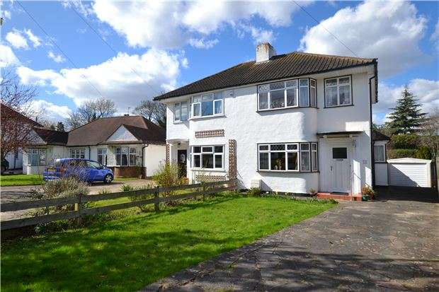 3 Bedrooms Semi Detached House for sale in Rosecroft Close, ORPINGTON, Kent, BR5