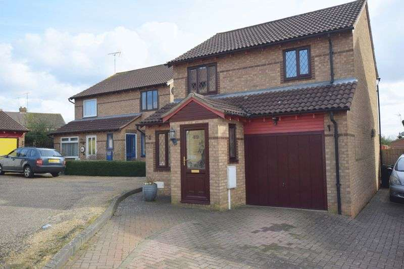 3 Bedrooms Detached House for sale in Hexham Gardens, Bletchley, Milton Keynes