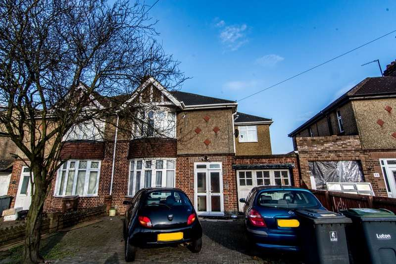 4 Bedrooms Semi Detached House for sale in Oakley Road, Luton, Bedfordshire, LU4
