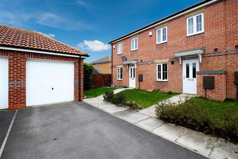 3 Bedrooms End Of Terrace House for sale in Consort Place, Newcastle Upon Tyne