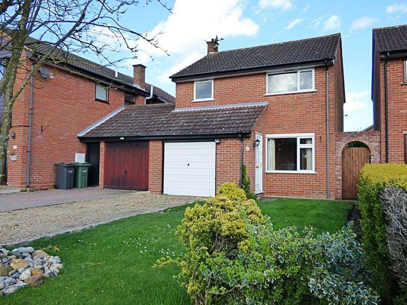 3 Bedrooms Detached House for sale in Henry Preston Road, Tasburgh, Norwich