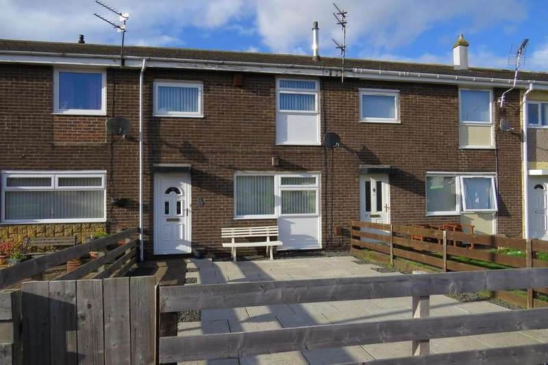 3 Bedrooms Terraced House for sale in Ridgeway, North Seaton Estate, Ashington