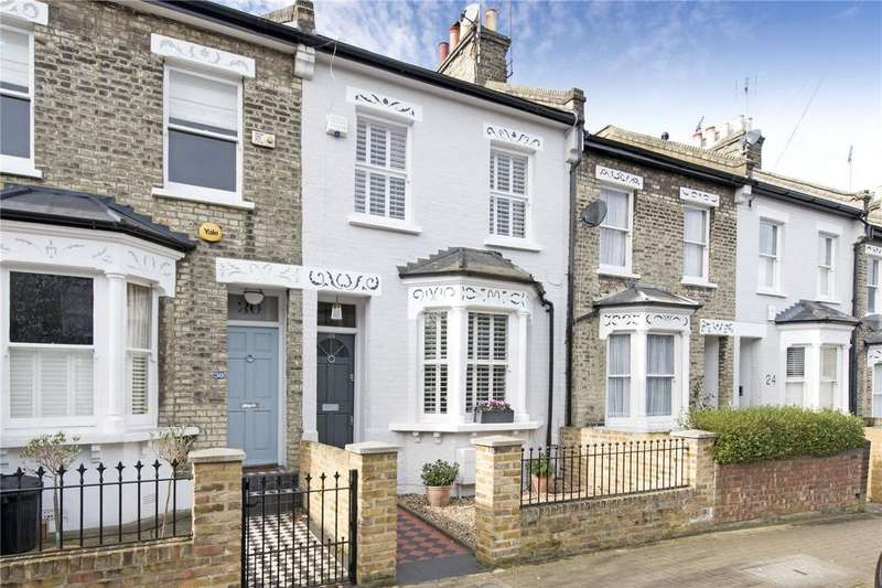 5 Bedrooms Terraced House for sale in Fullerton Road, London, SW18