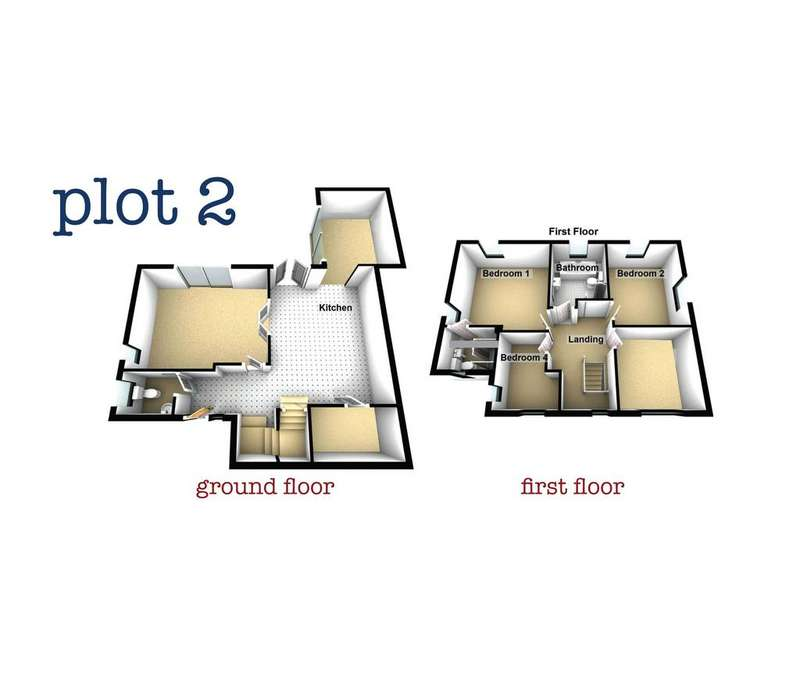 4 Bedrooms Detached House for sale in Plot 2, Lodgewood Mews, New Inn
