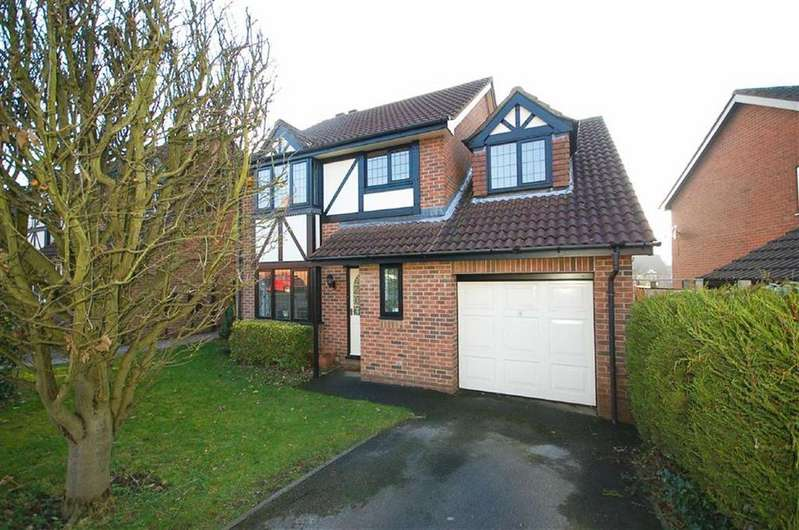 4 Bedrooms Detached House for sale in Brompton Way, West Bridgford