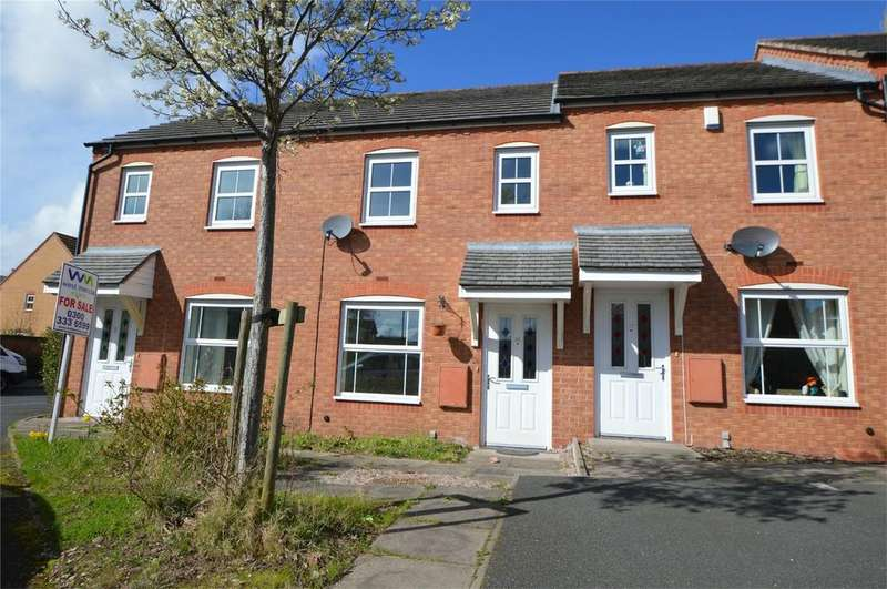 2 Bedrooms Terraced House for sale in Cowdrey Close, Amblecote, Stourbridge, West Midlands