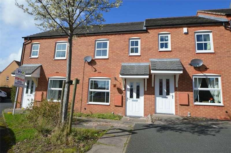 2 Bedrooms Terraced House for sale in Cowdrey Close, Amblecote, Stourbridge, West Midlands