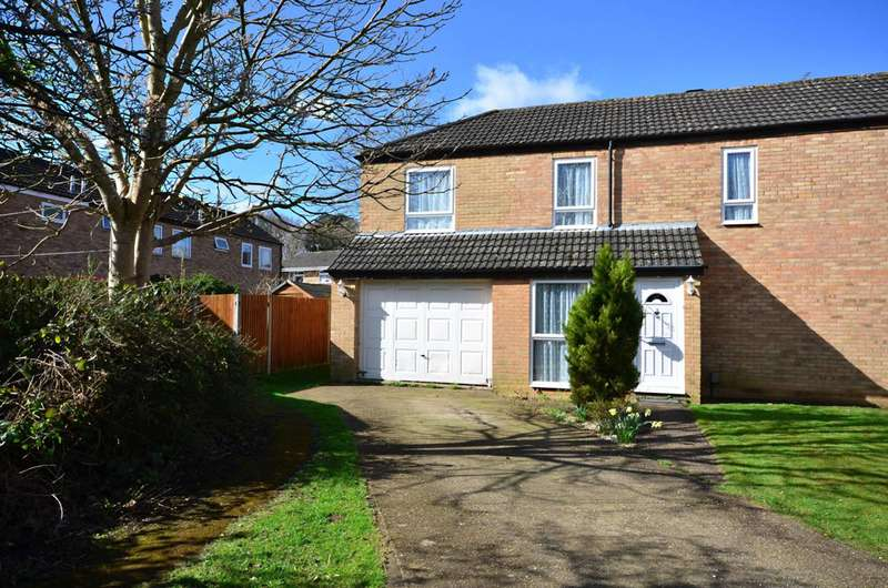 3 Bedrooms End Of Terrace House for sale in Ovington Court, Goldsworth Park, GU21