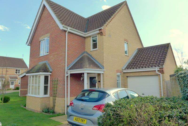 3 Bedrooms Detached House for sale in Poppy Close, Worlingham, NR34 7EB