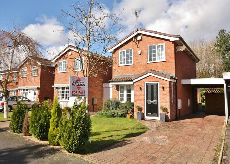 2 Bedrooms Link Detached House for sale in Mainwaring Drive, Wilmslow