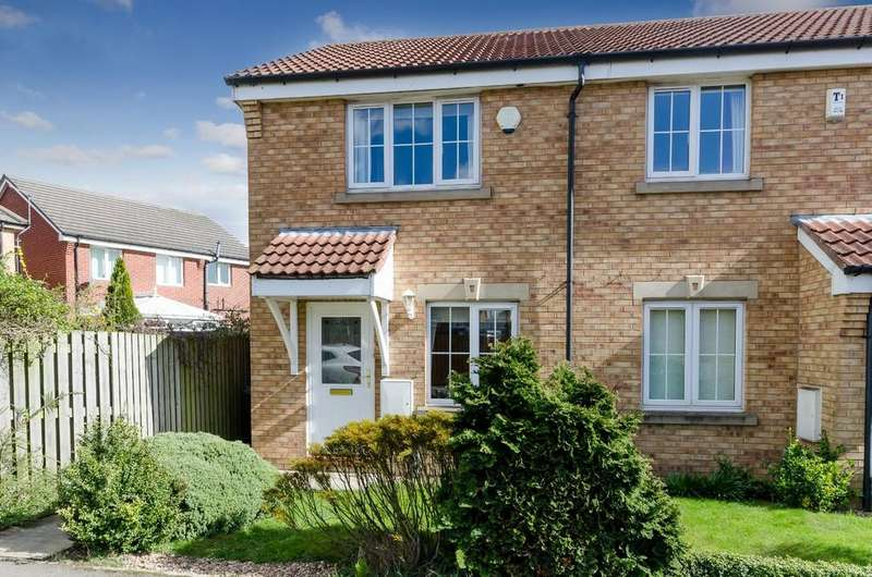 2 Bedrooms Semi Detached House for sale in Dunbar Court, Methley