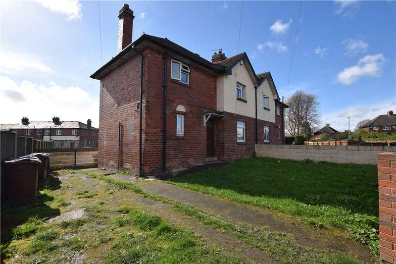 3 Bedrooms Semi Detached House for sale in Lea Farm Road, Kirkstall, Leeds