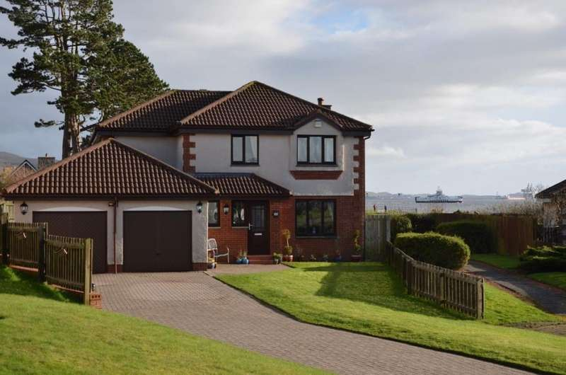 4 Bedrooms Detached Villa House for sale in 21 Newhaven Grove, Largs, KA30 8NS
