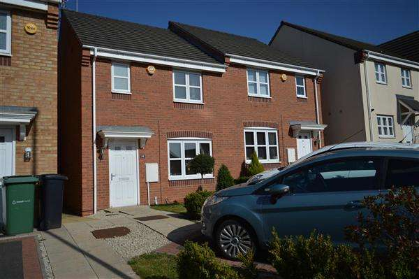 2 Bedrooms Semi Detached House for sale in Finery Road, Wednesbury