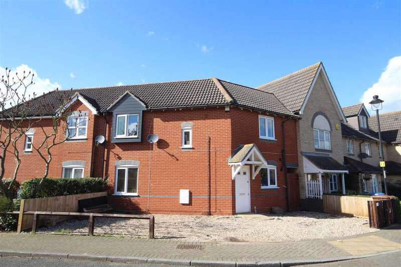 3 Bedrooms Terraced House for sale in Martinet Green, Ipswich