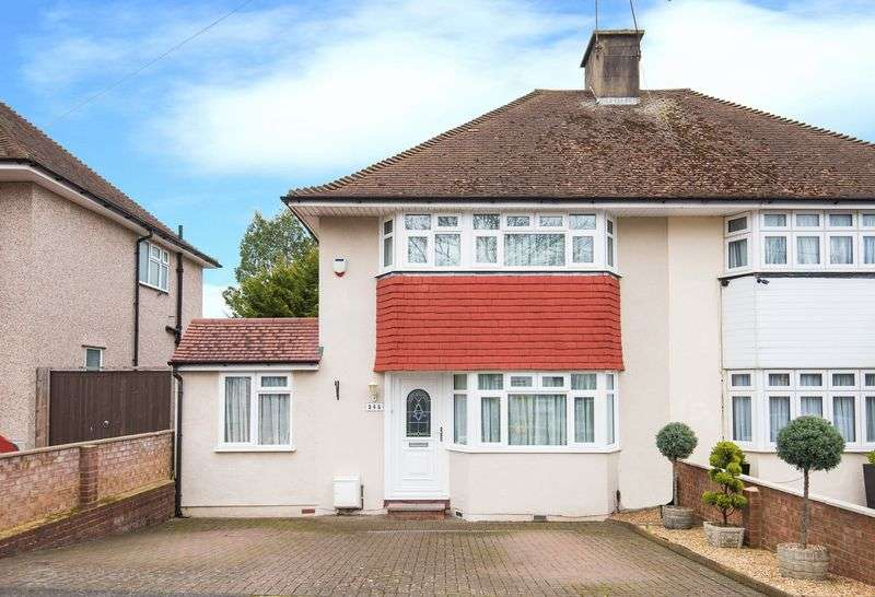 4 Bedrooms Semi Detached House for sale in Field End Road, Ruislip