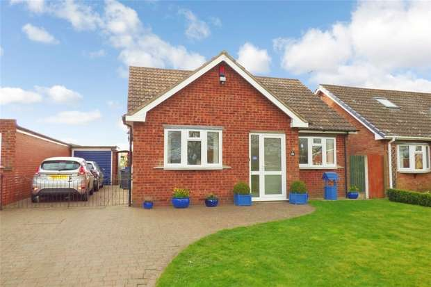 3 Bedrooms Detached Bungalow for sale in Rookery Close, Fenny Drayton, Leicestershire