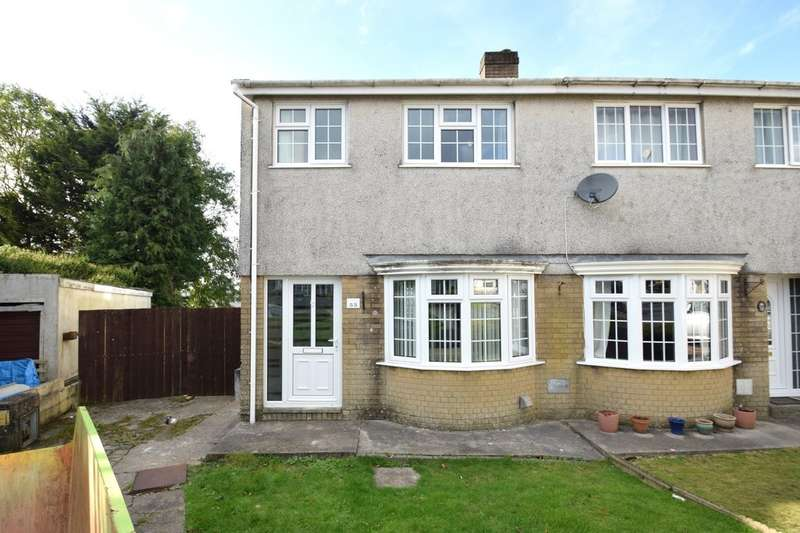 3 Bedrooms Semi Detached House for sale in 55 Georgian Way, Brackla, Bridgend, Bridgend County Borough, CF31 2EY.