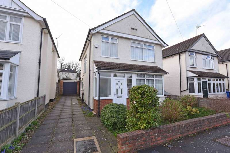 3 Bedrooms Detached House for sale in Manor Road, Farnborough, GU14