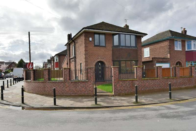 3 Bedrooms Detached House for sale in Gower Road, Heaton Chapel, Stockport, SK4 2QY