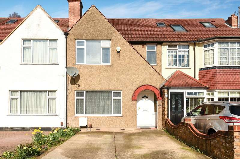 3 Bedrooms Terraced House for sale in Richmond Avenue, Hillingdon, Middlesex, UB10