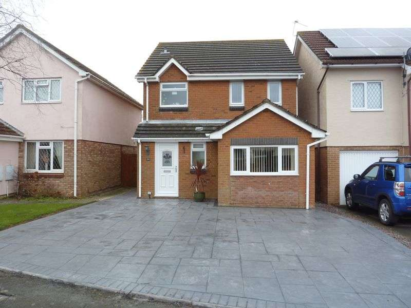 3 Bedrooms Detached House for sale in The Wheate Close, Rhoose