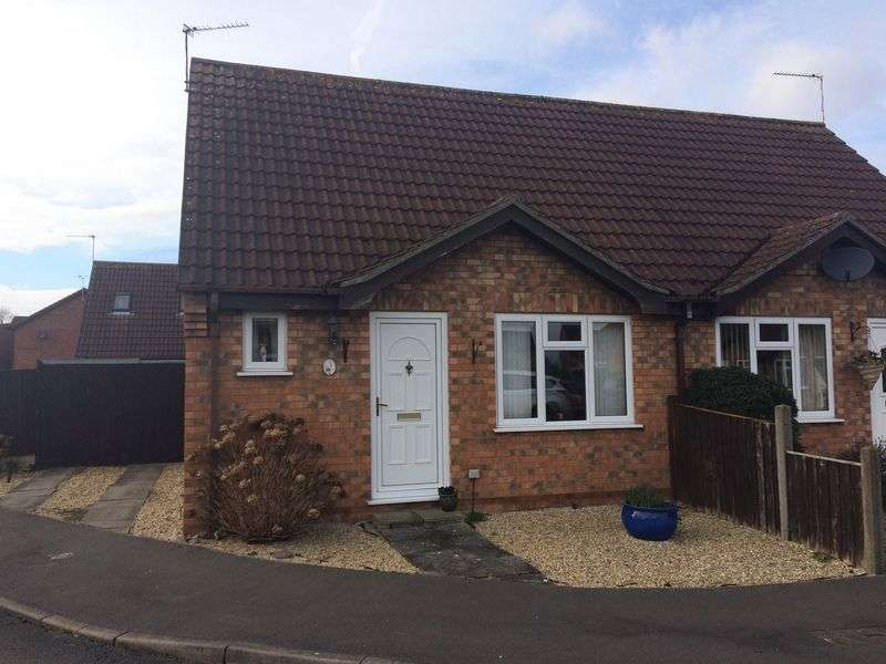 2 Bedrooms Semi Detached Bungalow for sale in Hawthorn Way, Lincoln