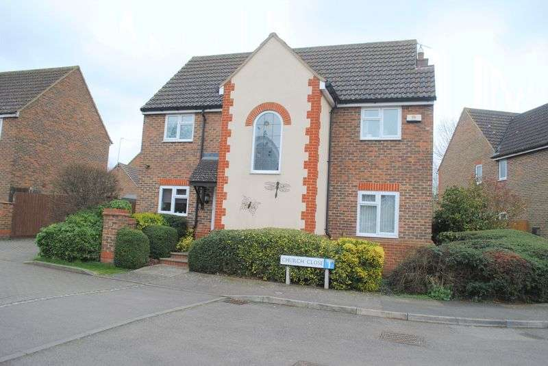 4 Bedrooms Detached House for sale in Church Close, Wymington
